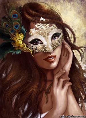 tube visage carnaval