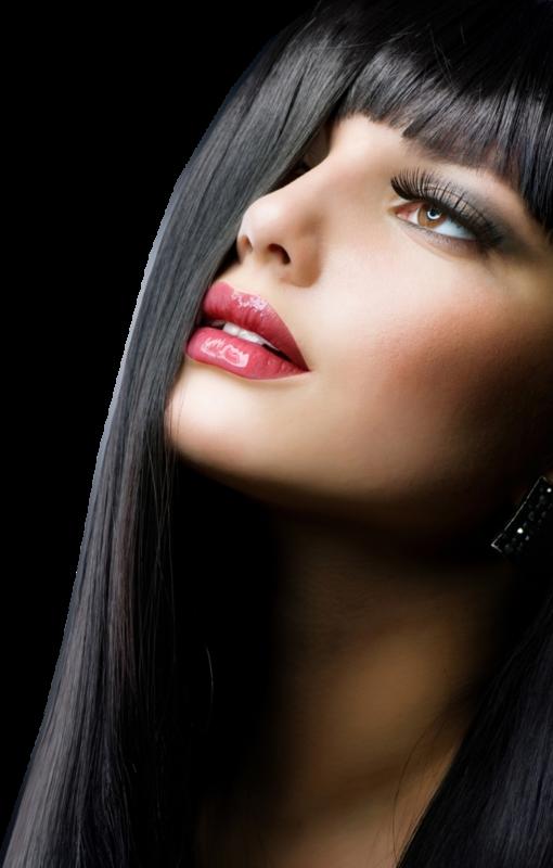 Tubes femmes et visages Hair fashion style salon de coiffure