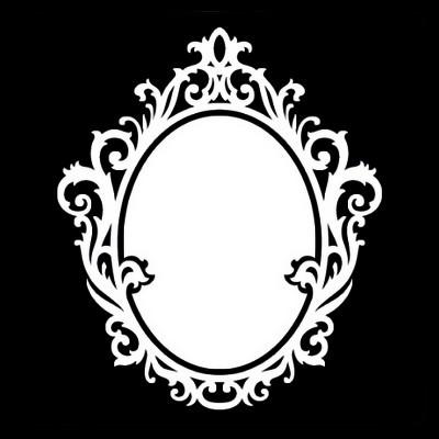 Masque miroir baroque ou anciens centerblog for Miroir dessin