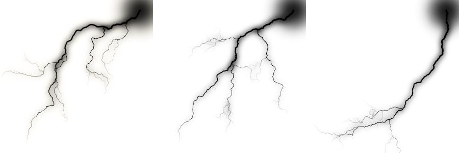 brushes eclairs , orage