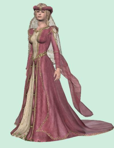 tube princesse moyen age